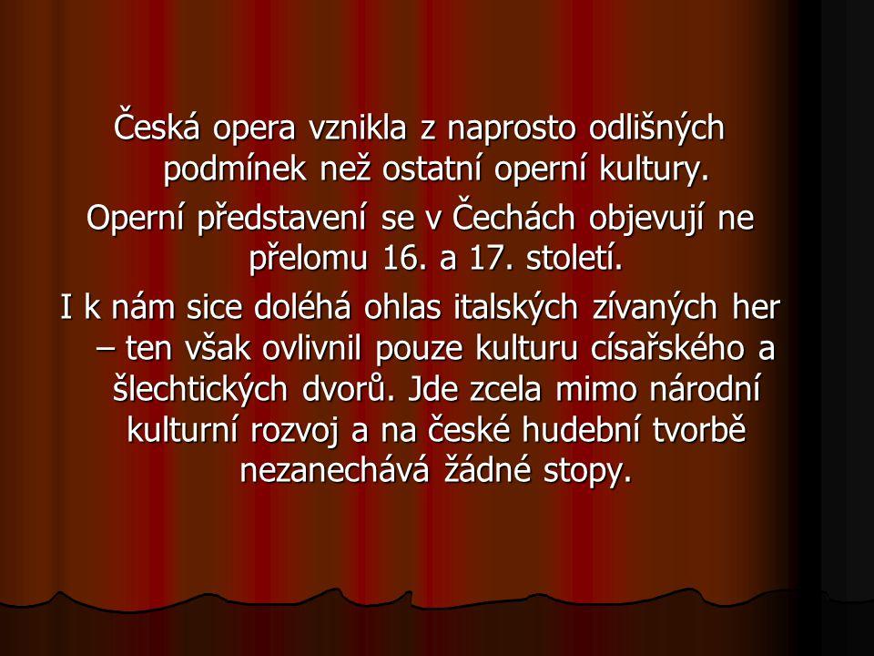 Česká opera