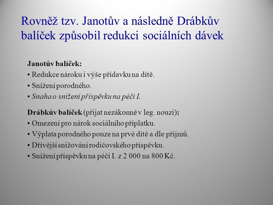 Cíle reformy vlády P.