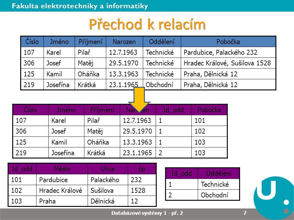 Příkaz SELECT Příkaz SELECT slouží k získávání dat z databáze.