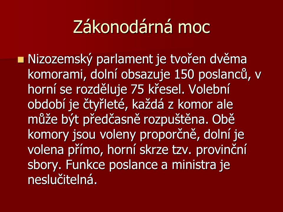 Vláda Hlavní výkonná funkce ve státě je svěřena vládě a jejímu předsedovi.