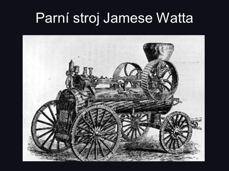 Parní stroj Jamese Watta