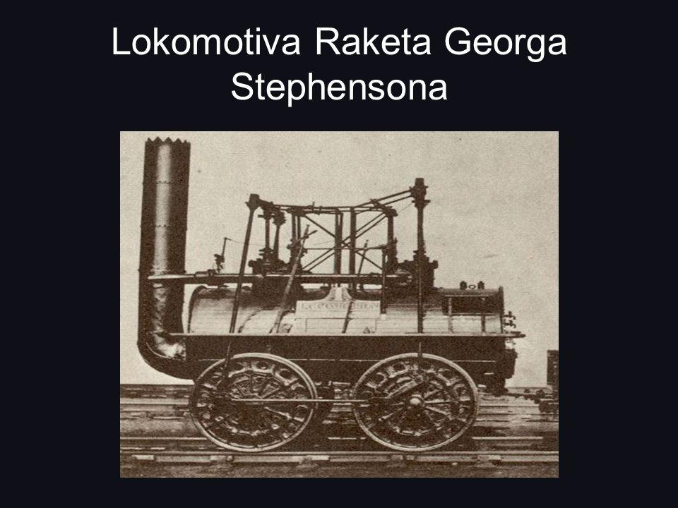 Lokomotiva Raketa Georga Stephensona