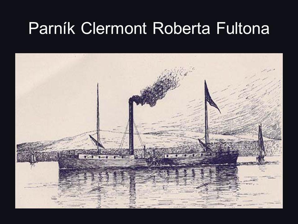 Parník Clermont Roberta Fultona