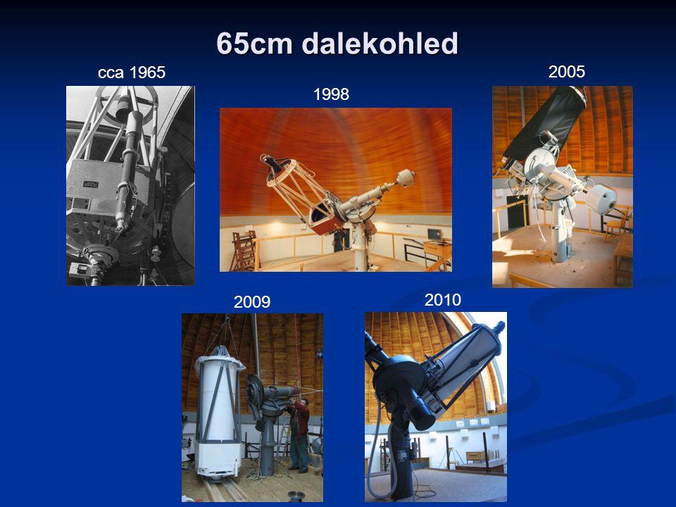 65cm dalekohled 1998 2005 cca 1965 2010 2009