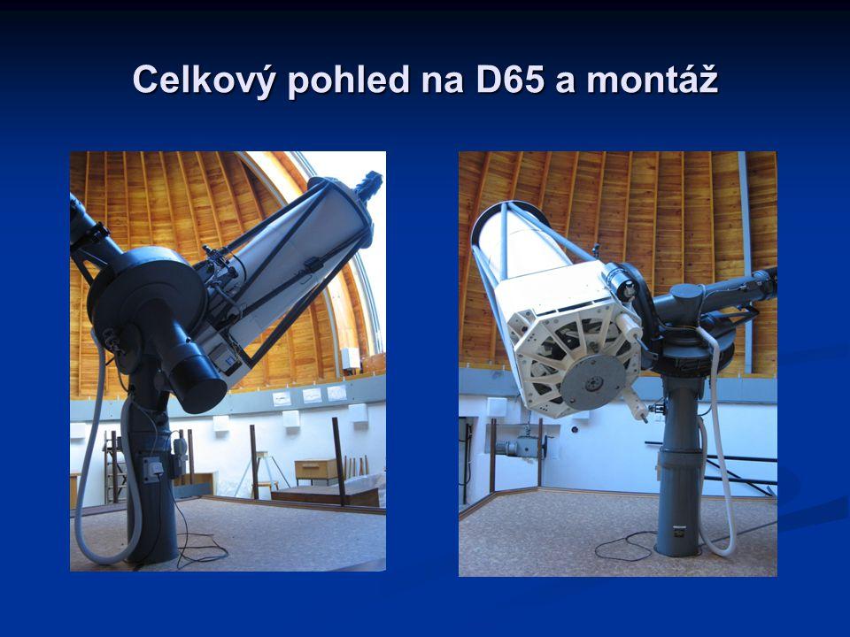 Celkový pohled na D65 a montáž