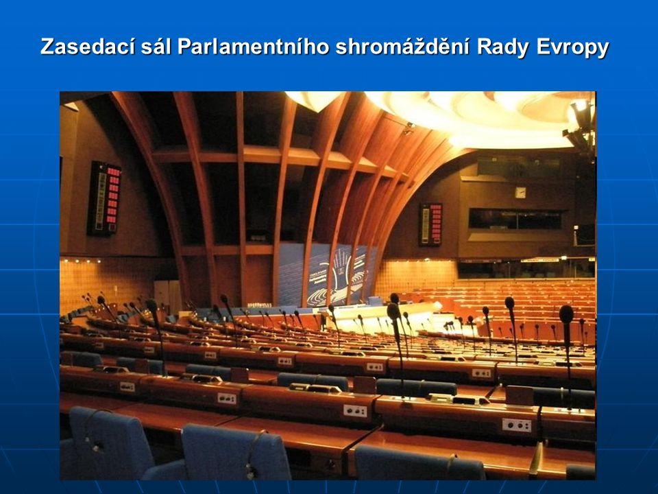 Zasedací sál Parlamentního shromáždění Rady Evropy