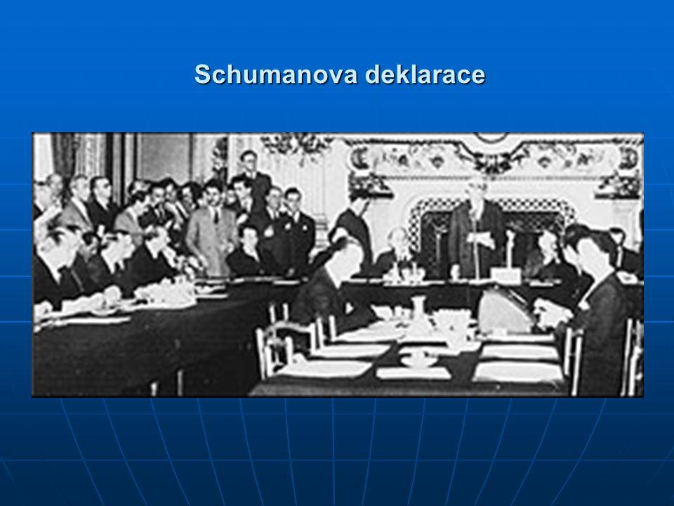 Schumanova deklarace