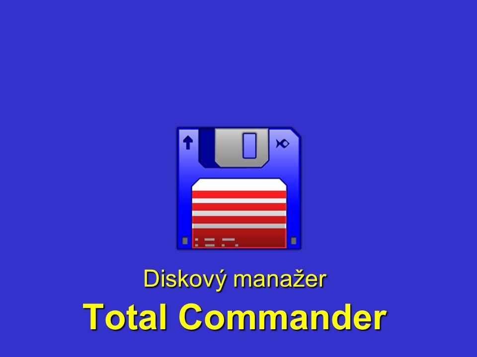 Diskový manažer Total Commander