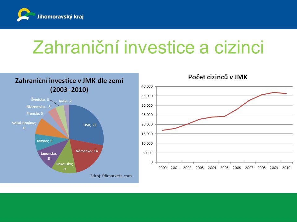 Zahraniční investice a cizinci