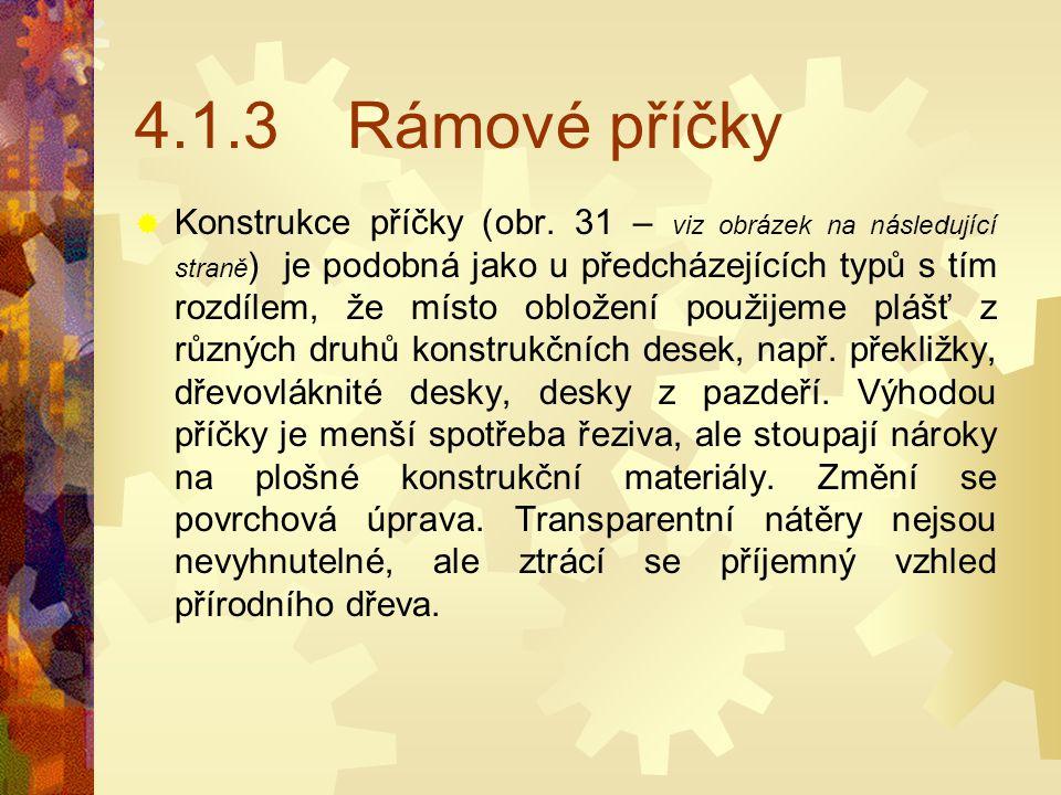 4.1.3Rámové příčky KKonstrukce příčky (obr.