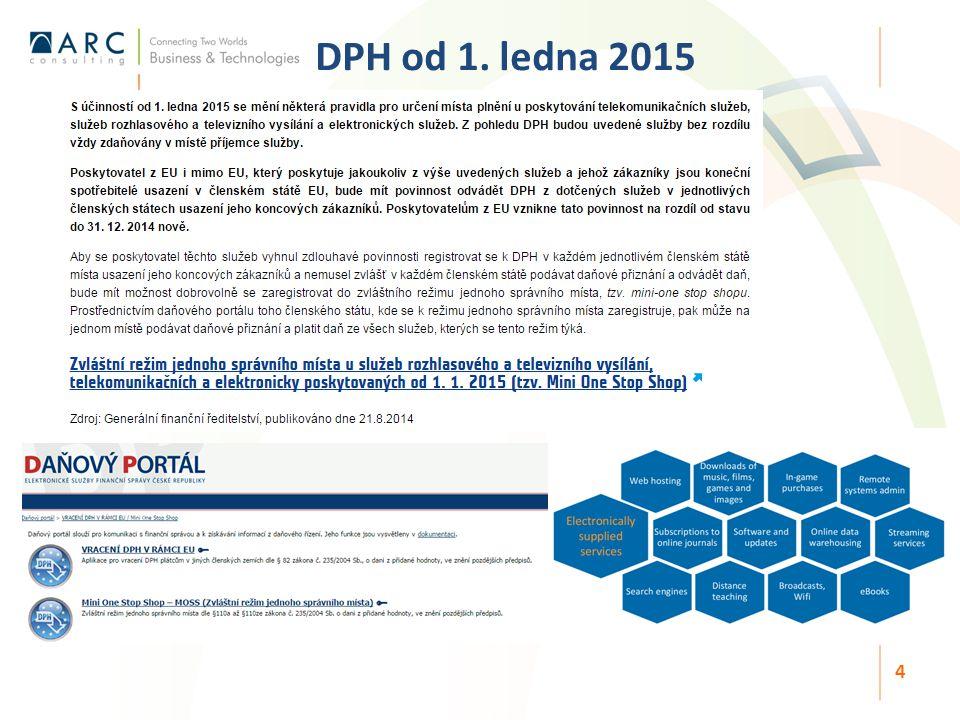 DPH od 1. ledna 2015 4