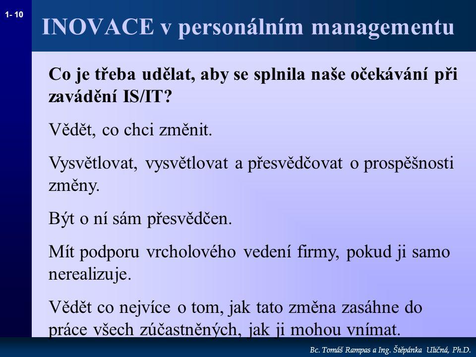 1- 10 Bc.Tomáš Rampas a Ing. Štěpánka Uličná, Ph.D.