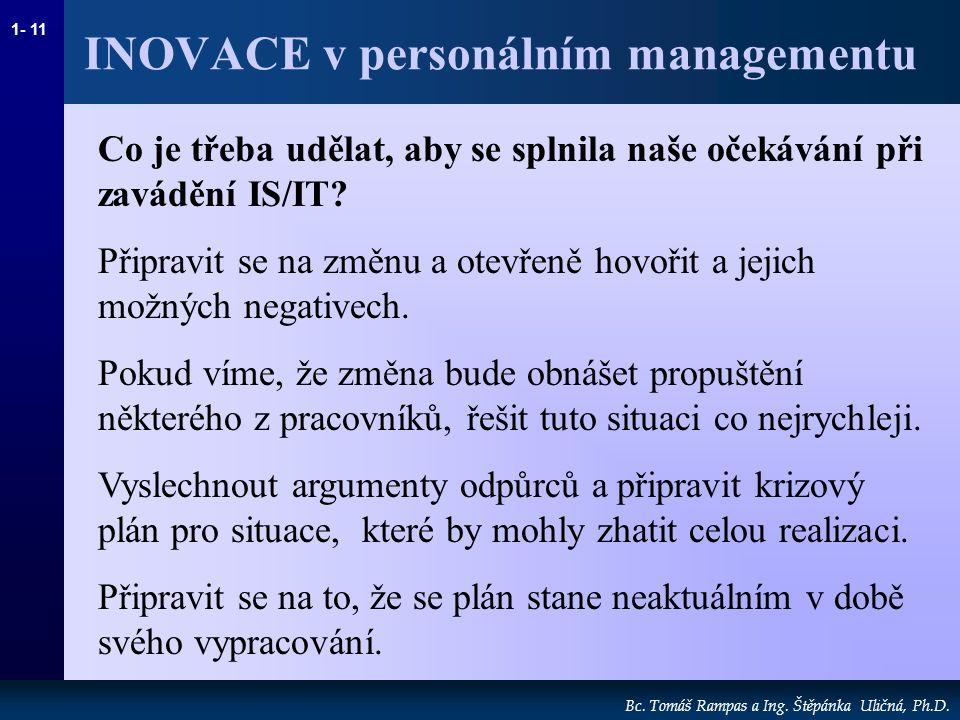 1- 11 Bc.Tomáš Rampas a Ing. Štěpánka Uličná, Ph.D.