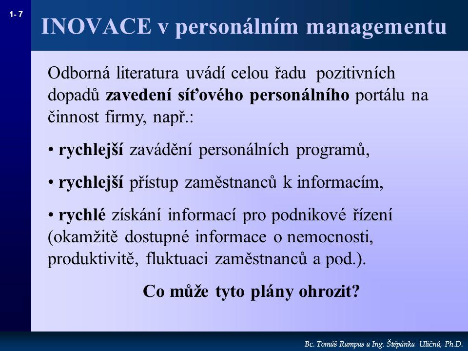 1- 7 Bc.Tomáš Rampas a Ing. Štěpánka Uličná, Ph.D.