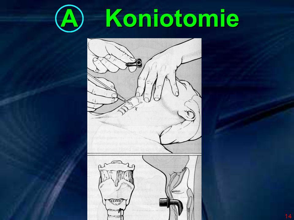 14 A Koniotomie