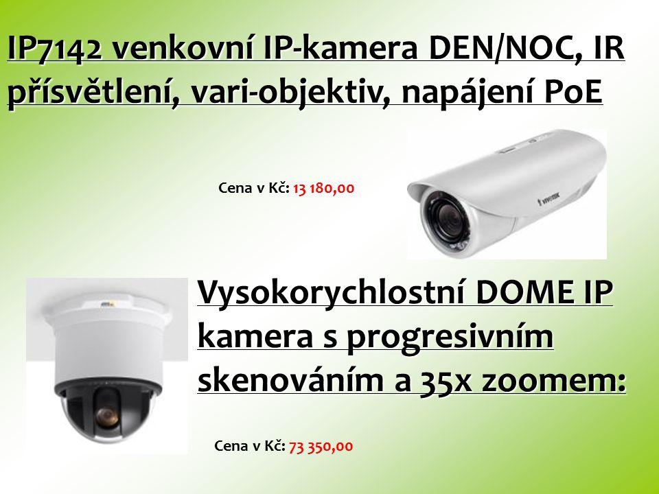 SNC-P1 barevná kamera MPEG-4 s mikrofonem Cena v Kč: 8 760,00 SNC-P5 barevná otočná IP-kamera se zoomem 3x Cena v Kč: 16 350,00