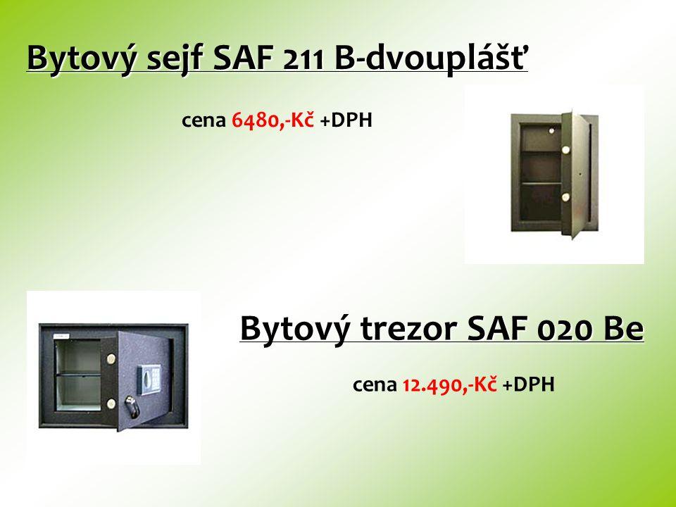 Stěnový sejf SAF 113 S Stěnový sejf SAF 113 S cena 2860,-Kč +DPH Stěnový sejf SAF 211 S cena 5300,-Kč +DPH
