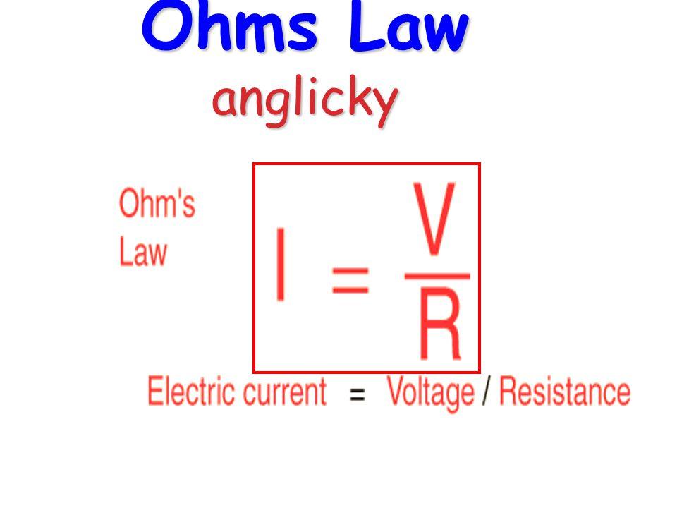 Ohmův zákon grafické znázornění vzorce ve tvaru trojúhelníka 1.Známe-li hodnoty libovolných dvou veličin, můžeme z Ohmova zákona vypočítat hodnotu zbývající veličiny.