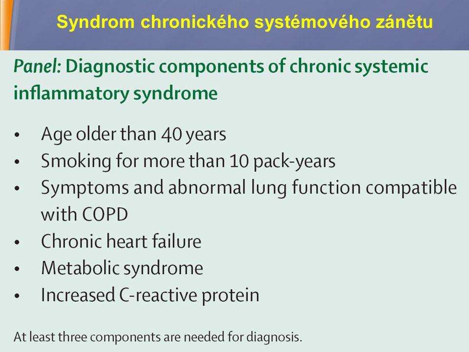 6 Syndrom chronického systémového zánětu