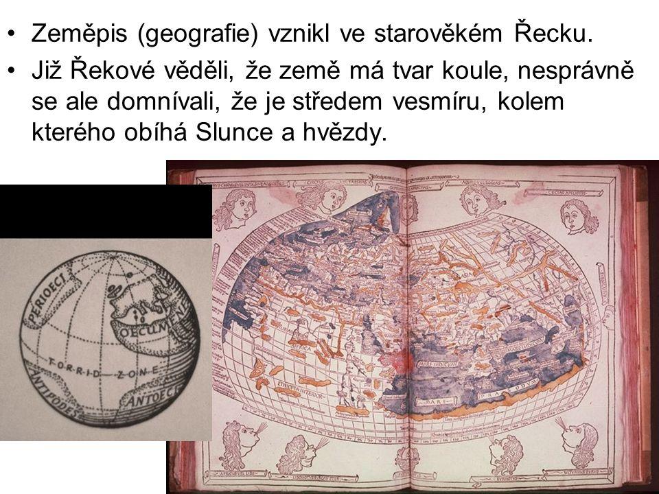 K rozvoji poznání světa přispěly od 15.do 20.