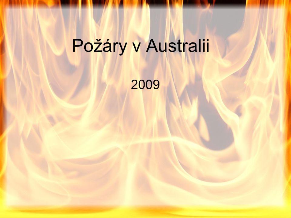 Požáry v Australii 2009