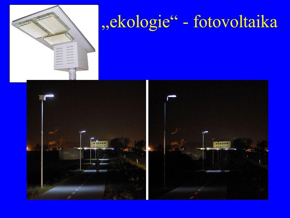 """ekologie"" - fotovoltaika"
