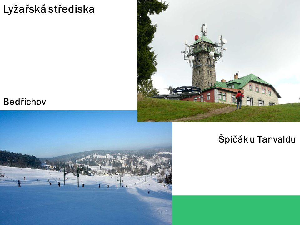 Lyžařská střediska Bedřichov Špičák u Tanvaldu