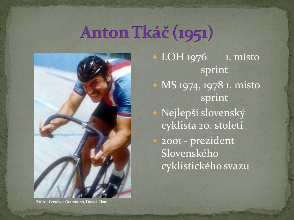 LOH 1976 1.místo sprint MS 1974, 1978 1. místo sprint Nejlepší slovenský cyklista 20.