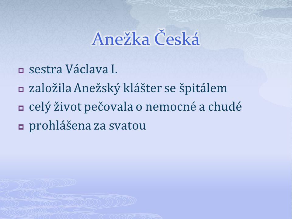  sestra Václava I.