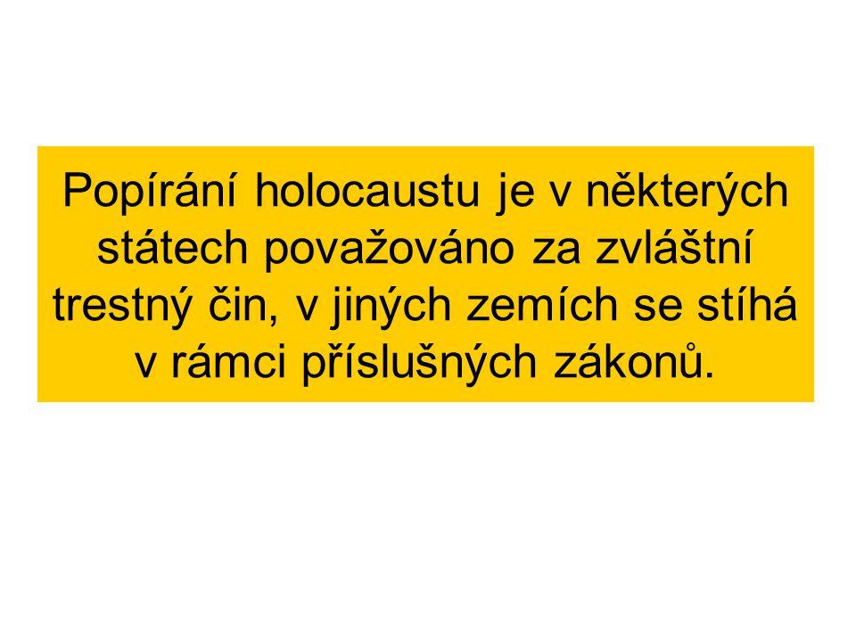 Zdroje : Téma: Holocaust.