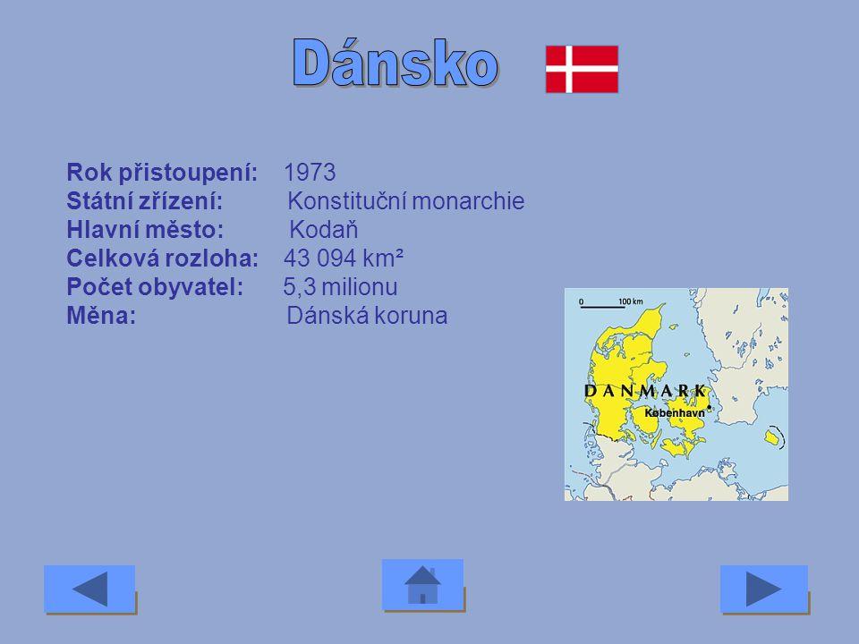 Rok přistoupení: 2004 Státní zřízení: Republika Hlavní město: Praha Celková rozloha: 79 000 km² Počet obyvatel: 10,3 milionu Měna: Česká koruna
