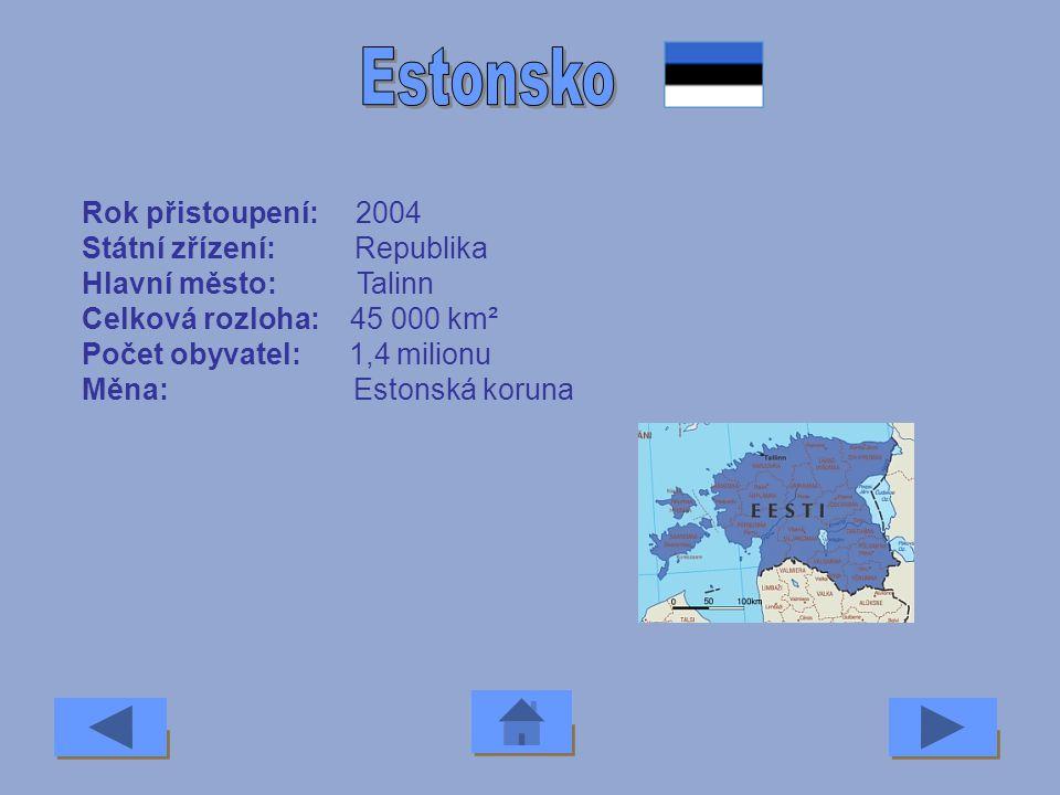 Rok přistoupení: 1973 Státní zřízení: Konstituční monarchie Hlavní město: Kodaň Celková rozloha: 43 094 km² Počet obyvatel: 5,3 milionu Měna: Dánská k