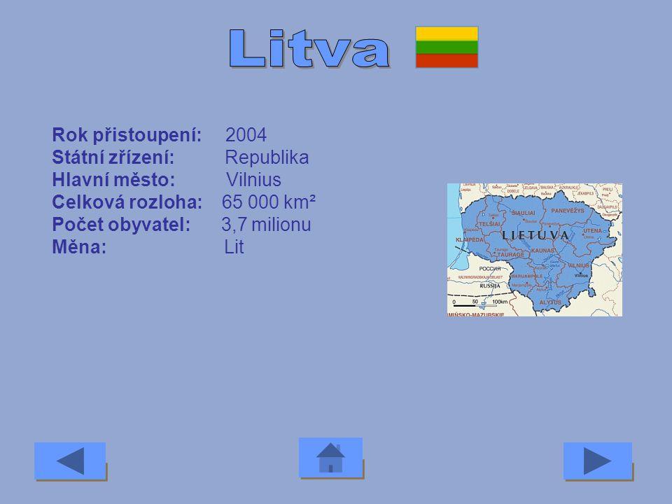 Rok přistoupení: 2004 Státní zřízení: Republika Hlavní město: Lefkosia Celková rozloha: 9 000 km² Počet obyvatel: 0,7 milionu Měna: Kyperská libra Pod