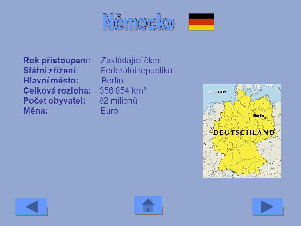 Rok přistoupení: 2004 Státní zřízení: Republika Hlavní město: Valletta Celková rozloha: 300 km² Počet obyvatel: 0,4 milionu Měna: Maltská lira