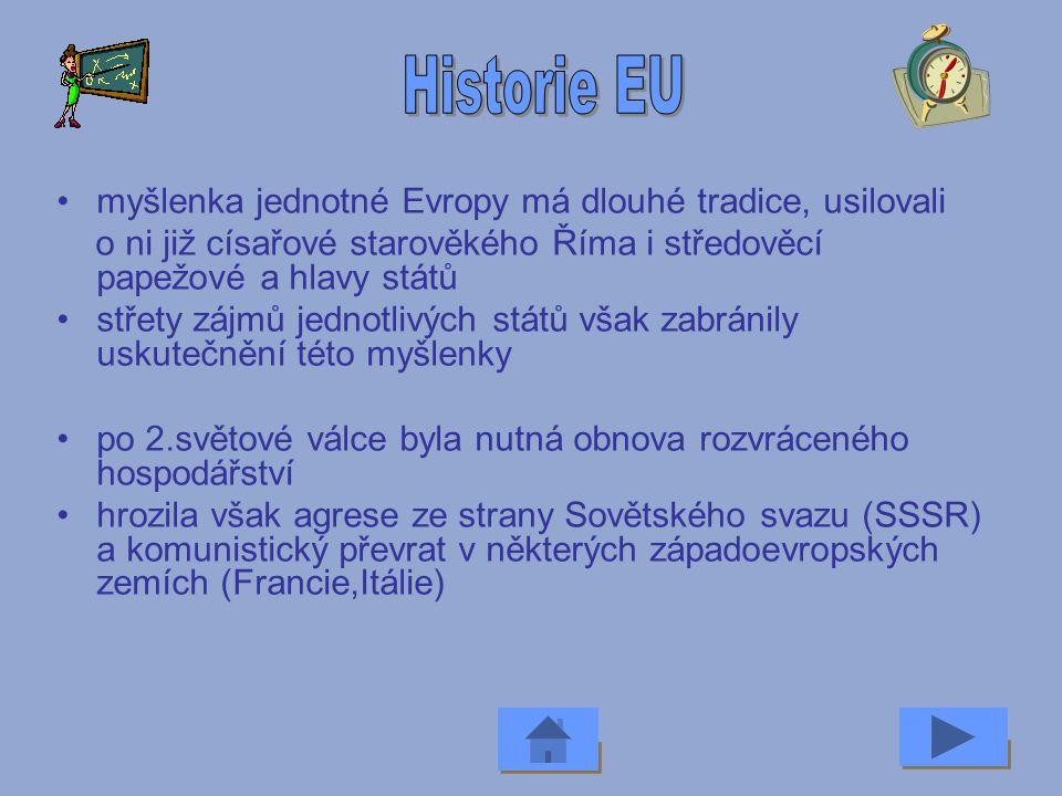 Evropská unie je společenství 27 demokratických států Evropy hlavním posláním unie je zabezpečení míru, demokracie, svobody, prosperity a rozvoje tvoř