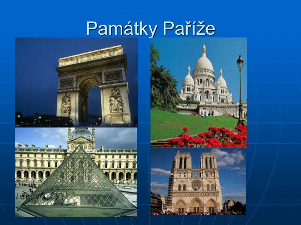 Paříž město služeb město služeb sídlo mnohých velkých firem, úřadů, bank a pojišťoven sídlo mnohých velkých firem, úřadů, bank a pojišťoven centrum ce