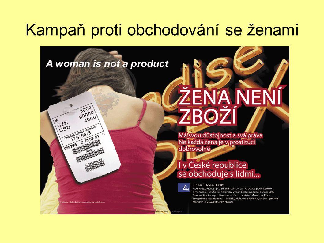 Kampaň proti obchodování se ženami