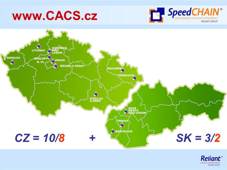 CZ = 10/8 + SK = 3/2 www.CACS.cz