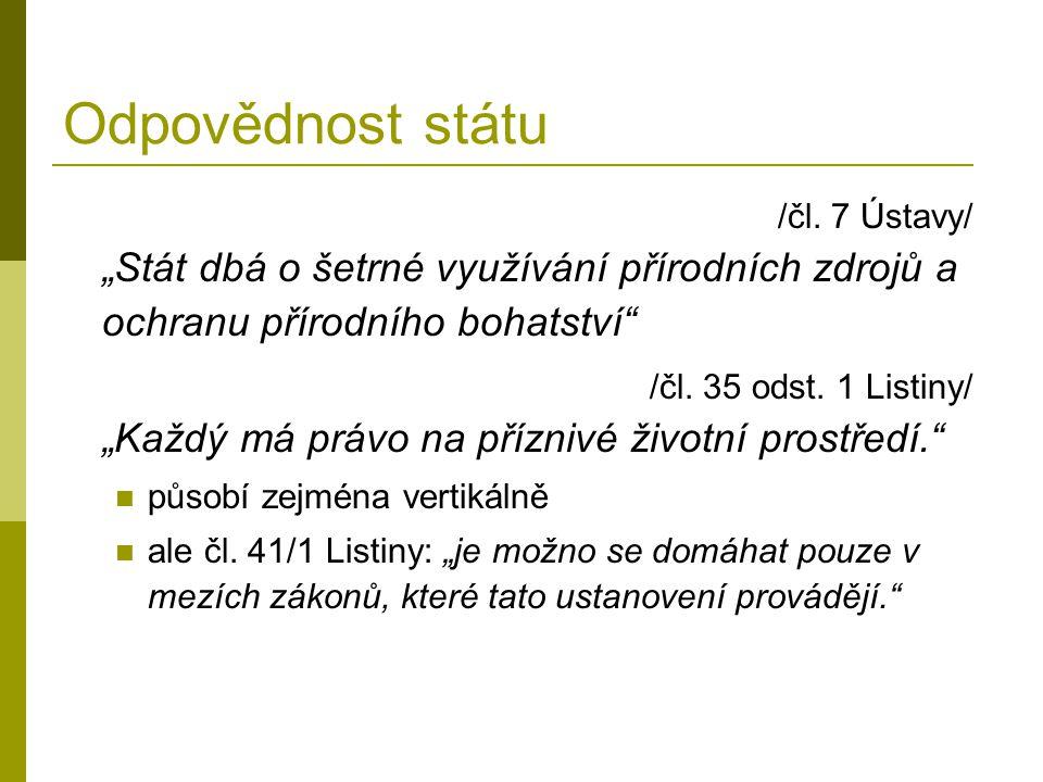 Odpovědnost státu /čl.