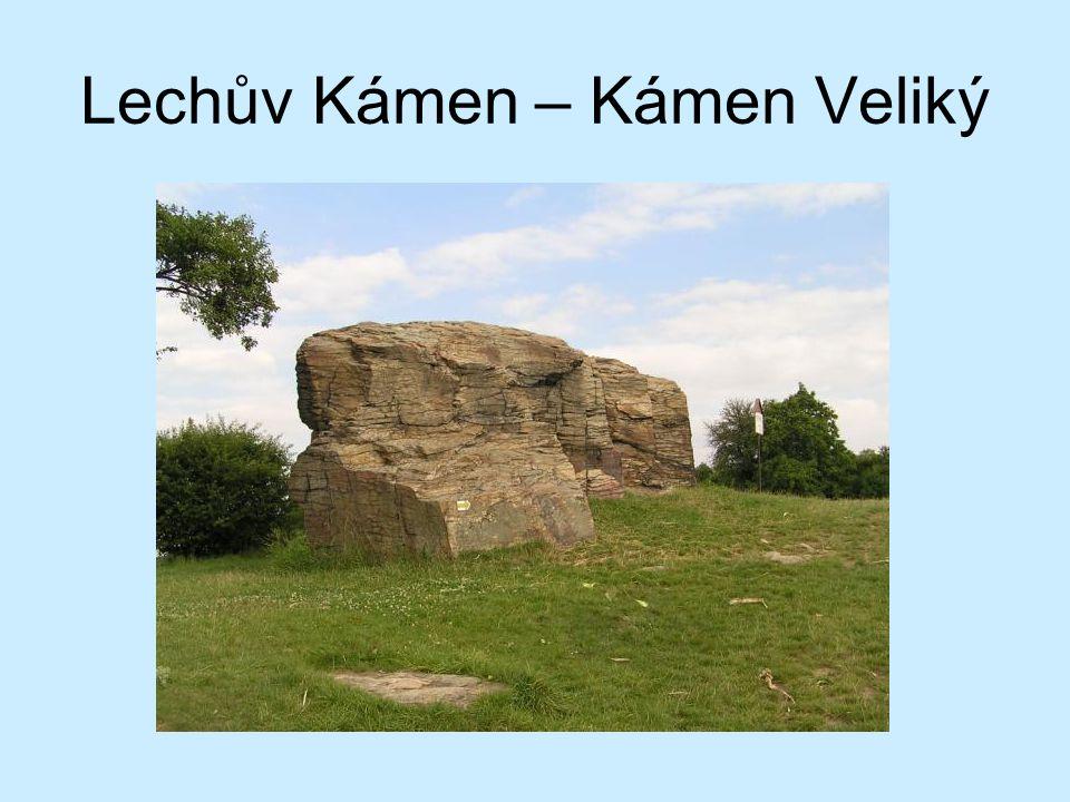 Lechův Kámen – Kámen Veliký