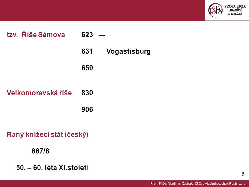 8.8.Prof. PhDr. Vladimír Čechák, CSC., vladimir.cechak@vsfs.cz :: tzv.