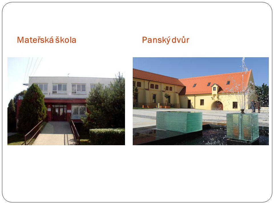 Mateřská školaPanský dvůr