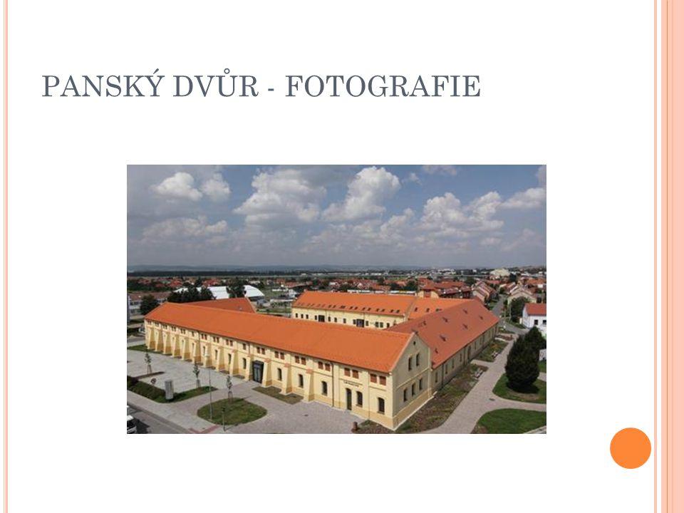 PANSKÝ DVŮR - SOUČASTNOST V budově se nachází restaurace, cukrárna, místnosti pro pořádání koncertů,televizní studium a místnosti pro podnikatele.