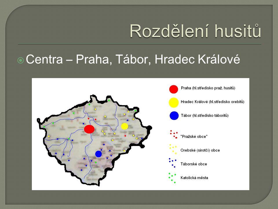  Centra – Praha, Tábor, Hradec Králové