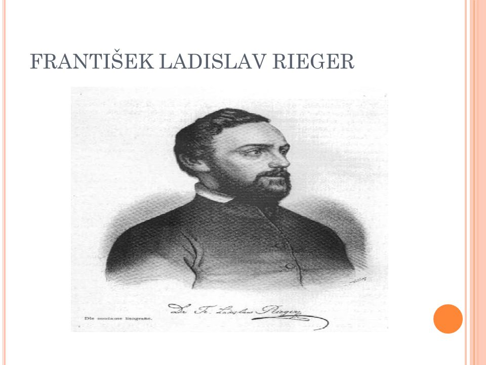 FRANTIŠEK LADISLAV RIEGER