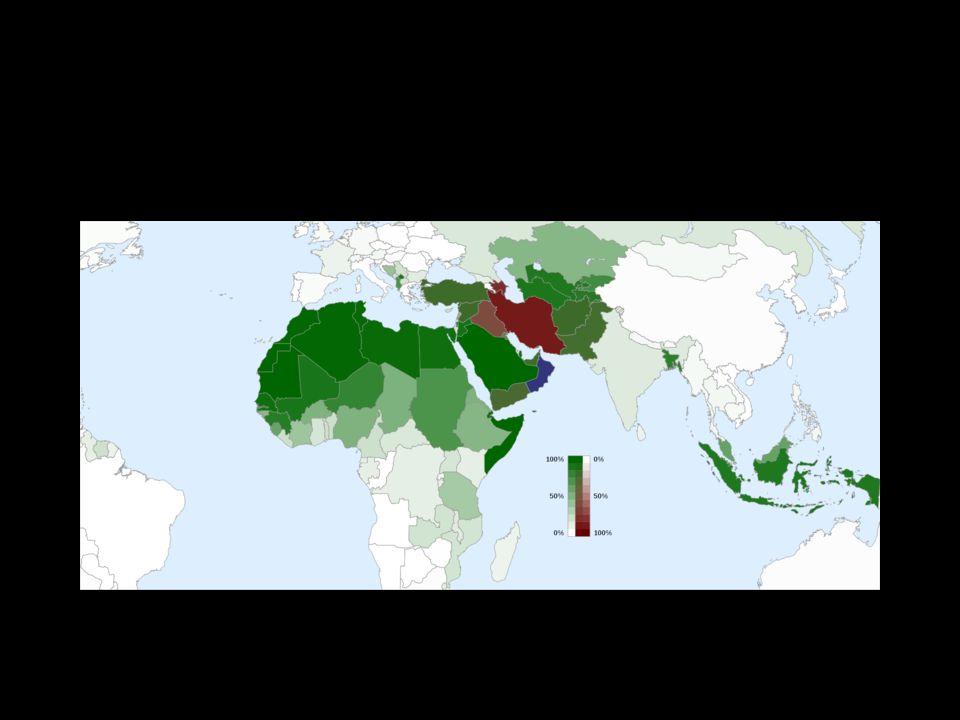 DYNASTIE PÁHLAVÍ 1941 – 1979 Írán pod nadvládou Muhammada Rezá Páhlavího autokratický systém tajná policie, držel 2000 politických vězňů posílil práva žen, bojoval proti analfabetismu cílem bylo vytvořit z Íránu velmoc, výstavba průmyslu X korupce, autokracie, špatná ekonomika, demonstrace Páhlaví svržen a nastupuje Chomejní