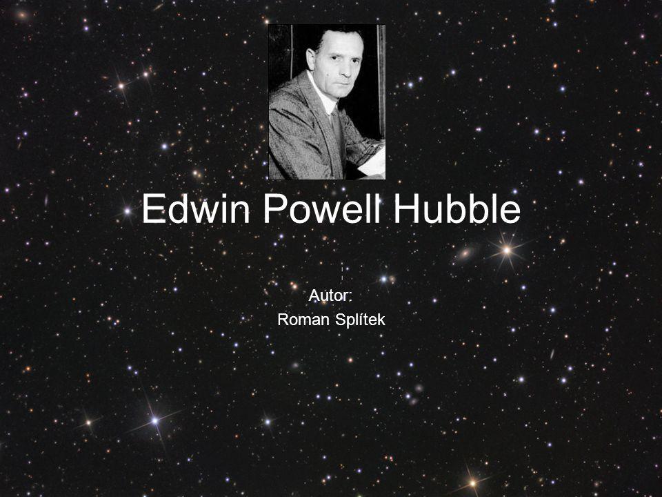 Edwin Powell Hubble Autor: Roman Splítek