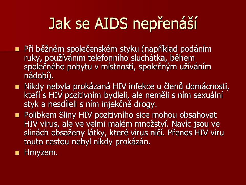 AIDS - prevence abstinence abstinence kondom kondom věrnost věrnost