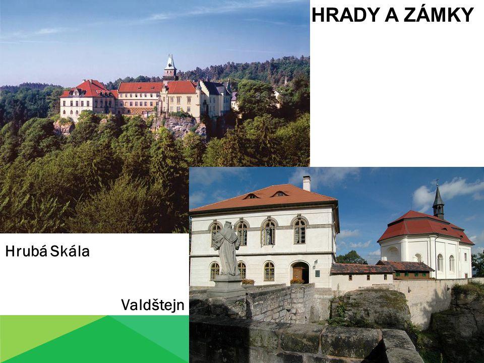 HRADY A ZÁMKY Hrubá Skála Valdštejn