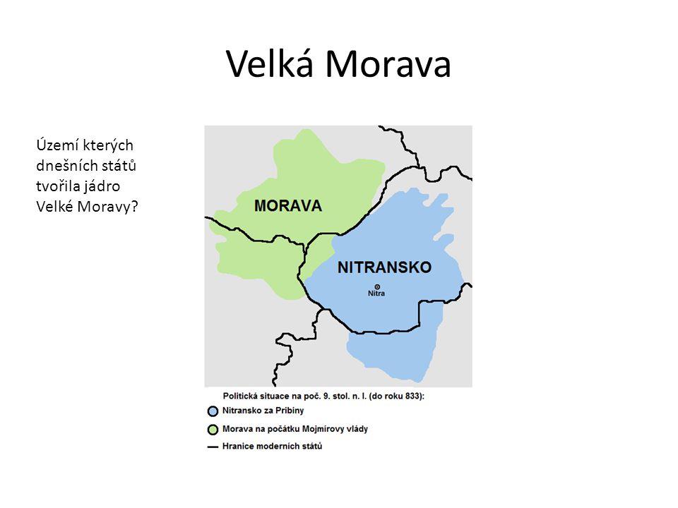 Rastislav  846 - 870 úspěšně bojoval o nezávislost Velké Moravy s Franky zabránil vlivu franských misionářů – šířili křesťanství spolu s politickou závislostí na Franské říši obrátil se na Byzantskou říši